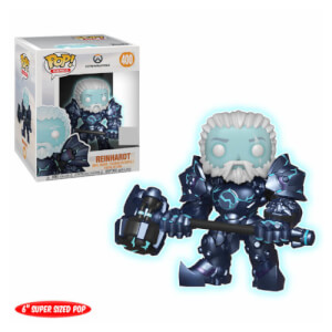 Figura Funko Pop! - Coldhardt Reinhardt (Luminescente) EXC - Overwatch