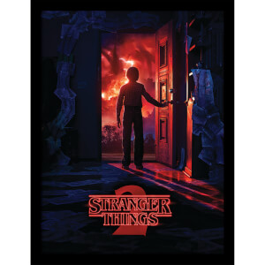 Stranger Things (Doorway) Framed 30 x 40cm Print