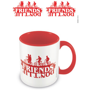Stranger Things (Friends Don't Lie) Red Inner Mug