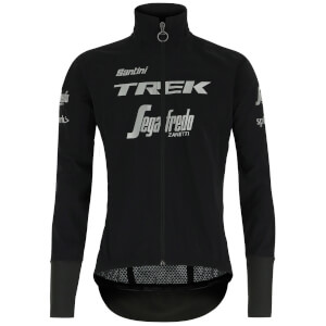 Santini Trek-Segafredo 2019 Pro Team Mercurio Guard Rain Jacket