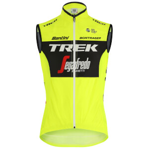 Santini Trek-Segafredo 2019 Training Fine Light Wind Gilet
