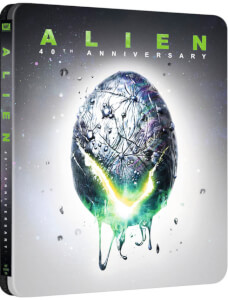 Alien - 4K Ultra HD 40th Anniversary Steelbook Zavvi UK Exclusive (Includes Blu-ray)