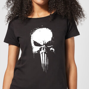 Marvel Punisher Damen T-Shirt - Schwarz
