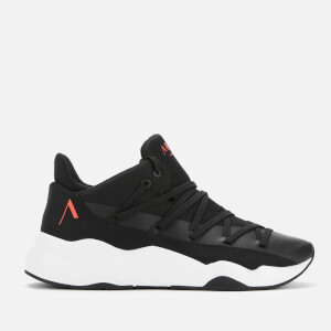 ARKK Copenhagen Men's Spektrm Mesh Trainers - Black Bright Red