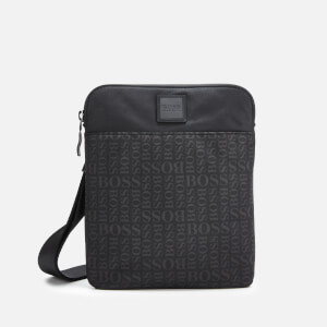 BOSS Men's Lighter Envelope Cross Body Bag - Black
