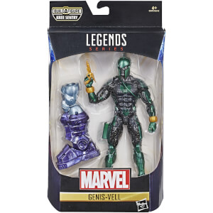 Hasbro Marvel Legends Series Captain Marvel 6-inch Genis-Vell Figure