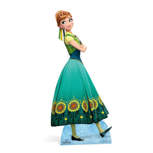 Frozen - Anna Lifesize Cardboard Cut Out