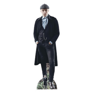 British 1920S Gangster Peaky Blinders Watch Chain Lifesize Cardboard Cut Out
