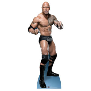 WWE - The Rock 'Just bring it' Lifesize Cardboard Cut Out