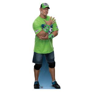WWE - John Cena 'Live fast, fight hard, no regrets!' Lifesize Cardboard Cut Out