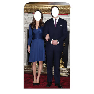 Will and Kate Stand-In Lifesize Cardboard Cut Out