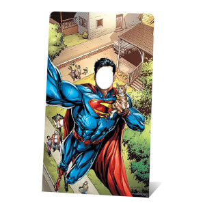 DC - Superman Selfie Stand-In Cardboard Cut Out