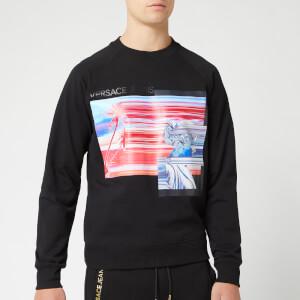 Versace Jeans Men's Printed Sweatshirt - Black