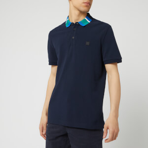 BOSS Men's Polarized Polo Shirt - Dark Blue