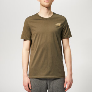 The North Face Men's Graphic Short Sleeve T-Shirt - New Taupe Green