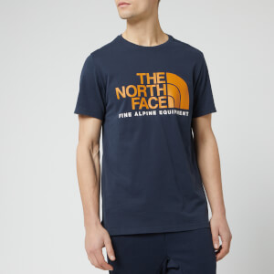 The North Face Men's Fine Alpine Short Sleeve T-Shirt - Urban Navy