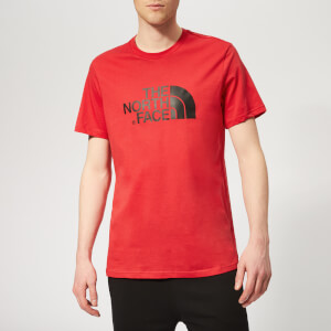 The North Face Men's Easy Short Sleeve T-Shirt - Salsa Red