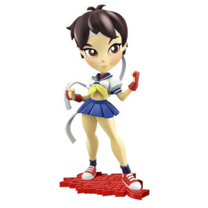Cryptozoic Street Fighter Knockouts Vinylfiguren Serie 1 Sakura 18 cm