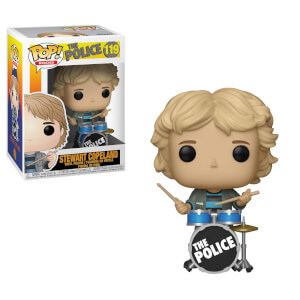 Pop Rocks The Police Stewart Copeland Pop! Vinyl Figure