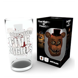Five Nights at Freddy's Fazbear Pint Glass