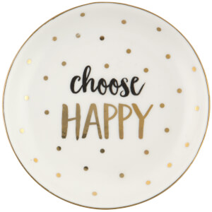 Sass & Belle Choose Happy Trinket Dish