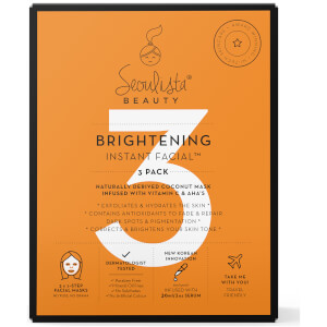 Seoulista Beauty Brightening Multi Pack 3's (Worth $32)