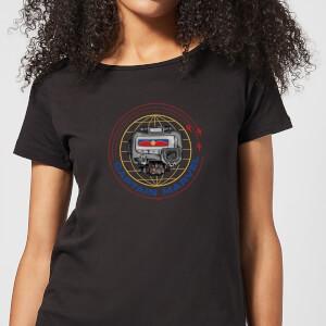 Captain Marvel Pager dames t-shirt - Zwart
