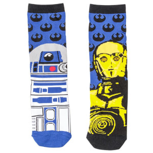 Star-Wars R2D2 & C3PO - Socks - One Size