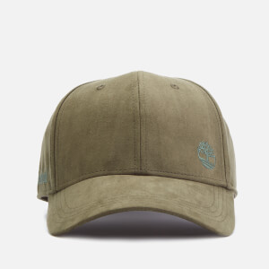 Timberland Men's Micro Suede Baseball Cap - Grape Leaf