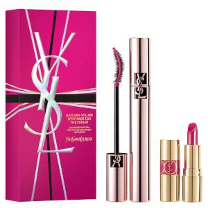 Yves Saint Laurent Mascara and Mini Rouge Volupte Shine Set