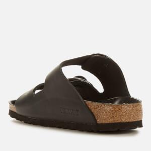 Birkenstock Women's Arizona Big Buckle Leather Slim Fit Double Strap Sandals - Black: Image 2