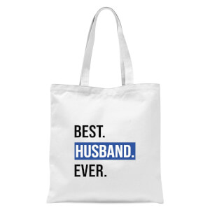 Best Husband Ever Tote Bag - White