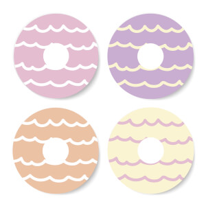 Party Rings Coaster Set