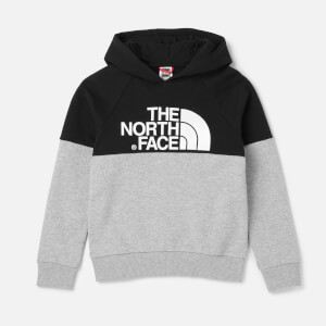 The North Face Kids' Drew Peak Raglan Pv Hoodie - TNF Light Grey