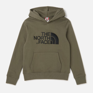 The North Face Kids' Drew Peak Pull Over Hoodie - New Taupe Green
