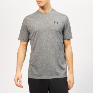 Under Armour Men's Siro Shorts Sleeve T-Shirt - Black/Heather Twist