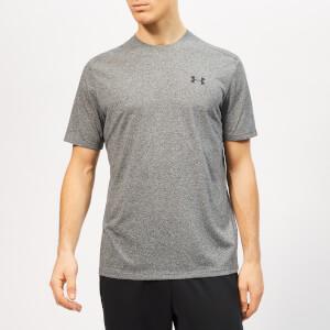 Under Armour Men's Siro Shorts Sleeve T-Shirt - Black/Heather Twist