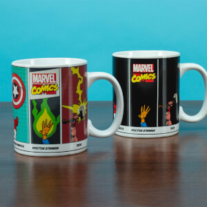 Marvel Comics Powers Heat Change Mug