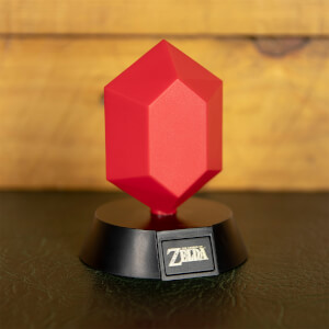 The Legend of Zelda Red Rupee Icon Light