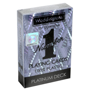 Waddingtons Number 1 Playing Cards - Platinum Edition