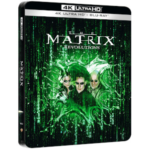 Matrix Revolutions - 4K Ultra HD Zavvi UK Exclusive Steelbook (Includes Blu-ray)