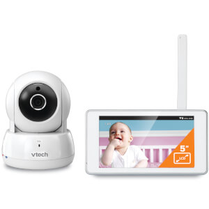 "Vtech Safe & Sound 5"" Tablet Video Baby Monitor - BM6000"