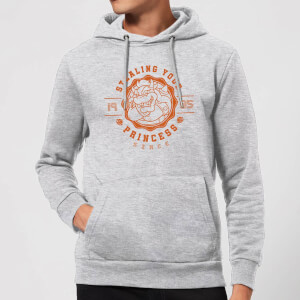 Super Mario Princess Stealer Hoodie - Grey