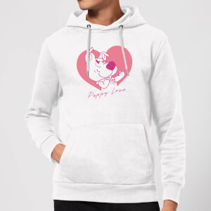 Scooby Doo Puppy Love Hoodie - White