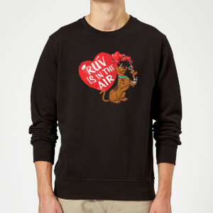 Scooby Doo Ruv Is In The Air Sweatshirt - Black
