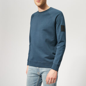 Peak Performance Men's Urban Crew Neck Sweatshirt - Blue Steel