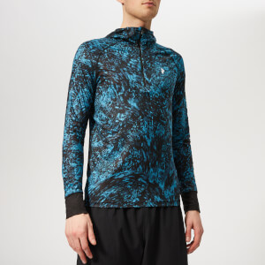 Peak Performance Men's Spirit Print Hoodie - Mosaic Pattern
