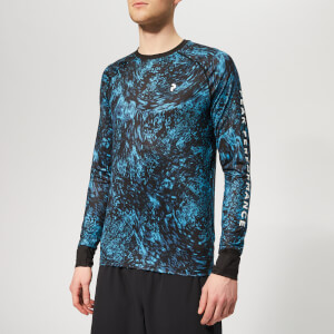 Peak Performance Men's Spirit Print Long Sleeve Top - Mosaic Pattern