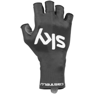 Team Sky Aero Race Gloves - Black