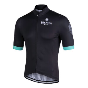 Bianchi Laces Short Sleeve Jersey